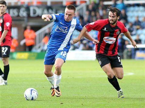 Paul Taylor v Shrewsbury 2