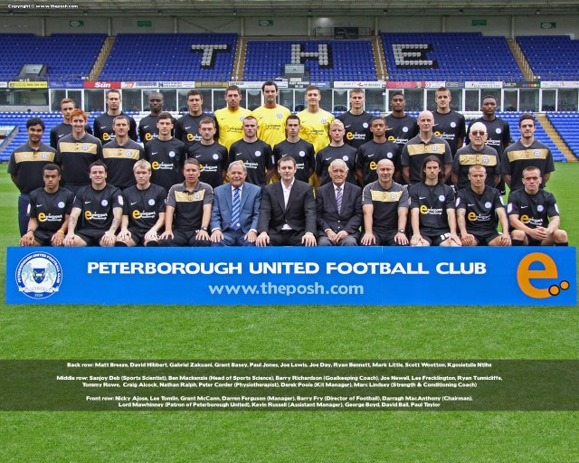 Posh Team Photo - 2010-2011