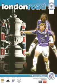 Posh v Tranmere - 29-Nov-2008 - FA Cup Round 2 programme