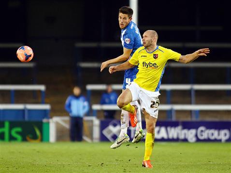Shaun Brisley v Exeter City