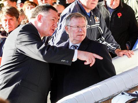 Sir Alex Ferguson - unlucky omen