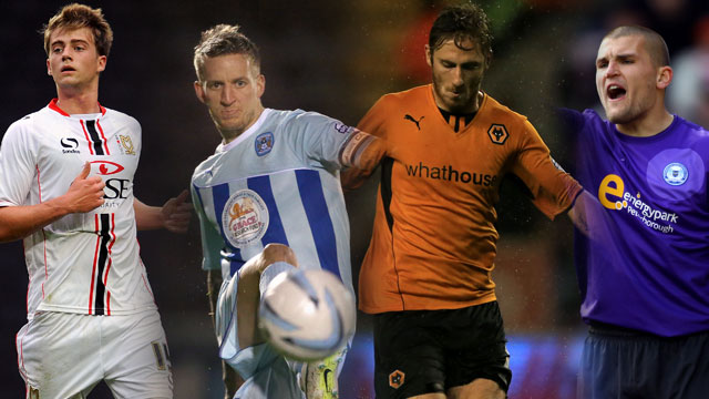 Sky Bet League One Player of the Month Nominees - October