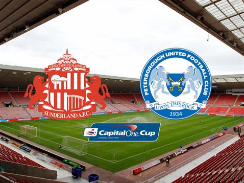 Sunderland v Posh - Capital One Cup