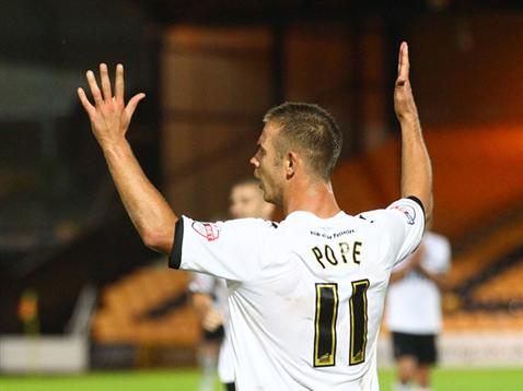 Tom Pope - Port Vale
