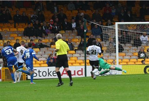 Tyrone Barnett goal v Port Vale