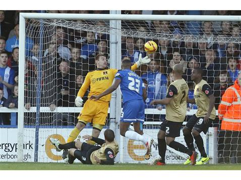 Tyrone Barnett v Leyton Orient 2