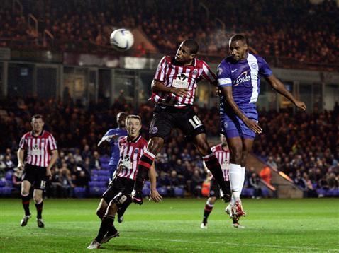 Tyrone Barnett v Sheff Utd