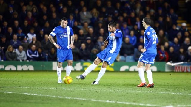 Michael Bostwick strike v Wolves