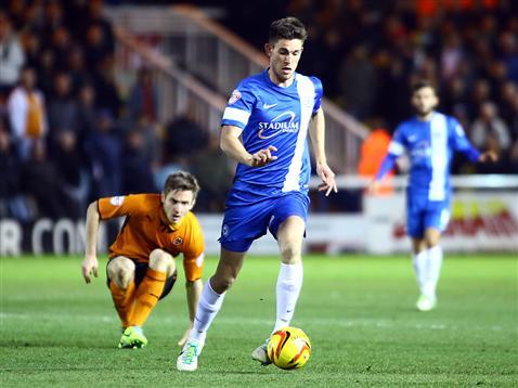 Shaun Brisley v Wolves