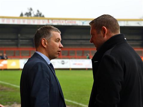 Fergie and DMAC at Kidderminster