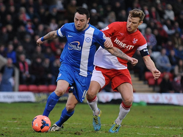 Soccer - FA Cup with Budweiser - Third Round - Kidderminster Harriers v Peterborough United - Aggborough Stadium