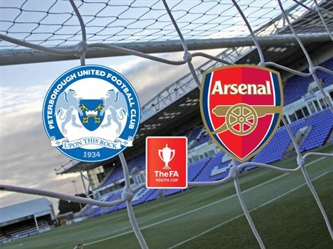 Posh v Arsenal - FA Youth Cup