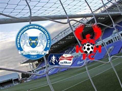 Posh v Kidderminster - FA Cup