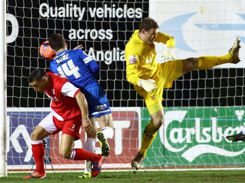 Tommy Rowe goal v Kidderminster
