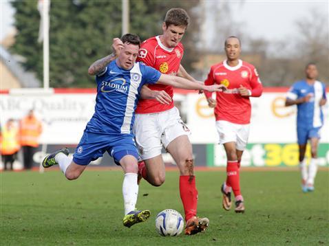 Danny Swanson v Crewe 3