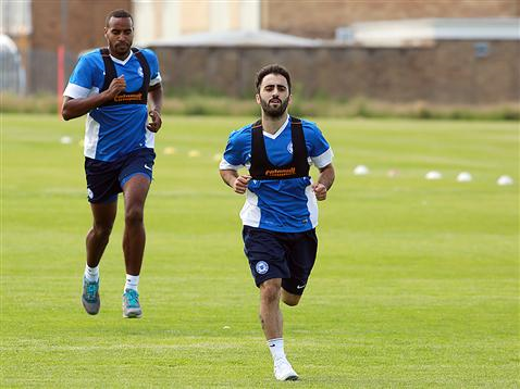 Pre-Season Day 1 afternoon session - Erhun Oztumer and Tyrone Barnett