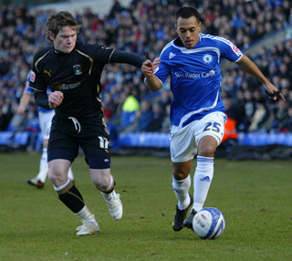 2009-10 Posh v Coventry - Dominic Green