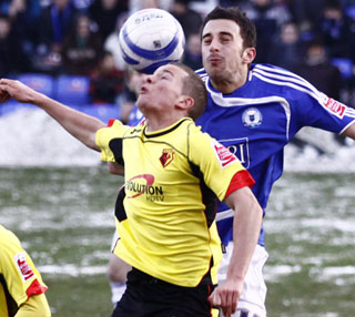 Chris Whelpdale - Posh v Watford - 19-12-2009