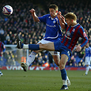 Chris Whelpdale v Palace - 30-Jan-2010
