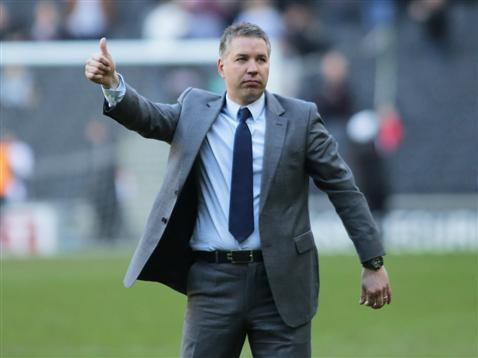 Darren Ferguson after the win v MK Dons