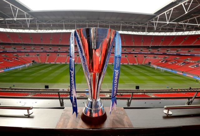 Johnstones Paint Trophy at Wembley