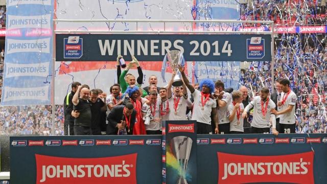 Johnstones Paint Trophy Winners 2013-2014 - Peterborough United