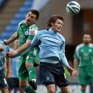Lee Frecklington - Coventry v Posh 12-Dec-2009