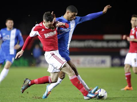 Mark Little v Bristol City