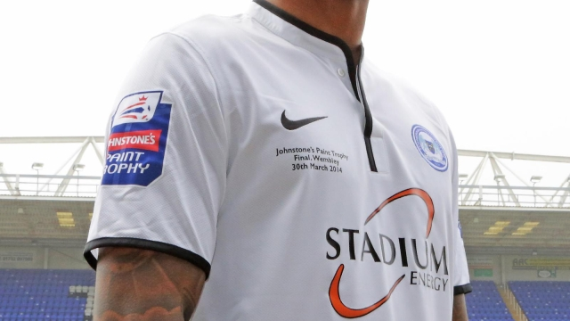 Mark Little wearing JPT Final shirt