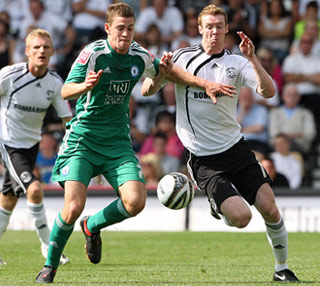 Paul Coutts - Derby v Posh - 08-Aug-2009