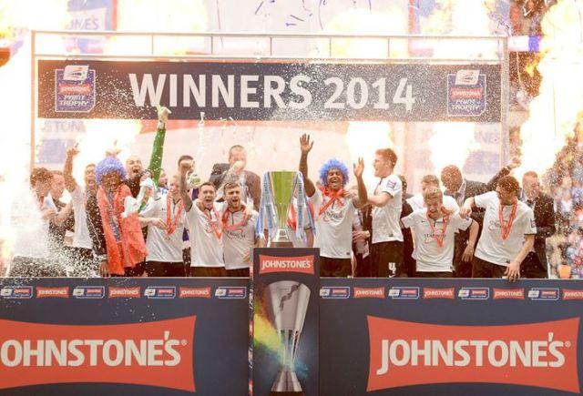 Peterborough United - Johnstones Paint Trophy Winners 2013-2014