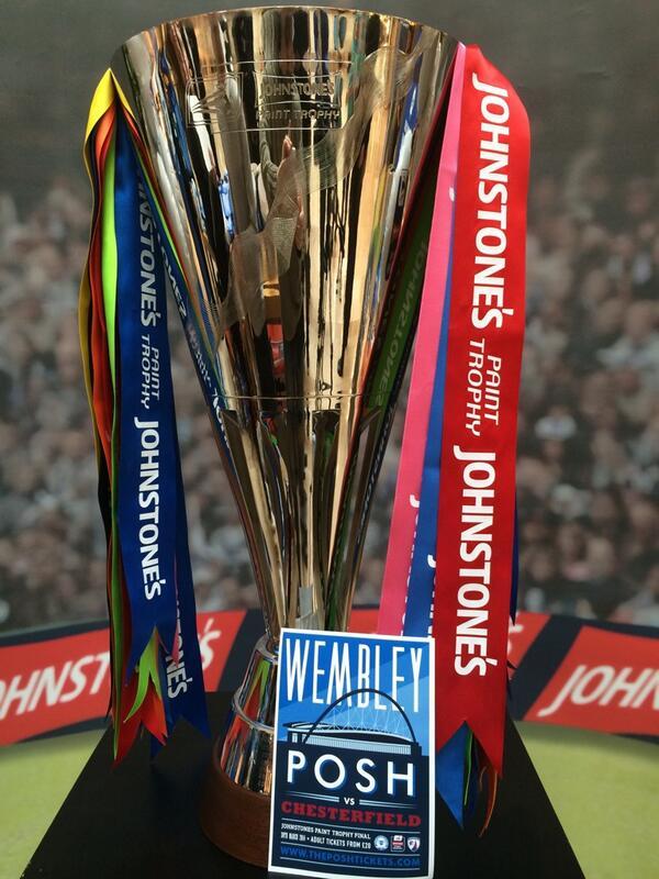 Posh v Chesterfield - JP Trophy