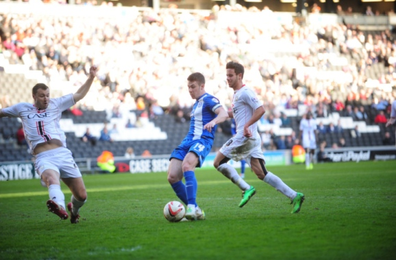 Tommy Rowe v MK Dons 2
