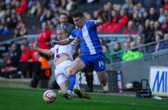 Tommy Rowe v MK Dons 3
