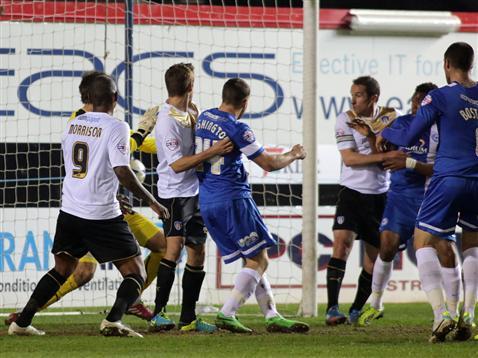 Tommy Rowes goal v Colchester
