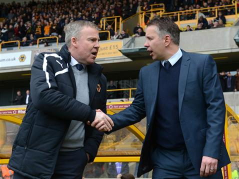 Darren Ferguson and Kenny Jackett