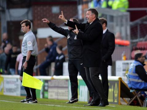 Darren Ferguson v Bradford