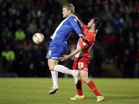 Grant McCann v Leyton Orient