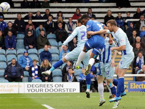Kgosi Ntlhe header v Coventry 2