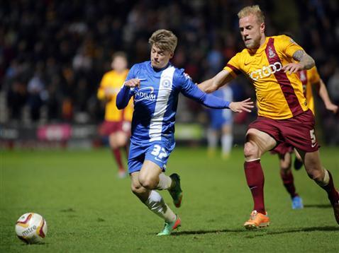 Lloyd Isgrove v Bradford 2
