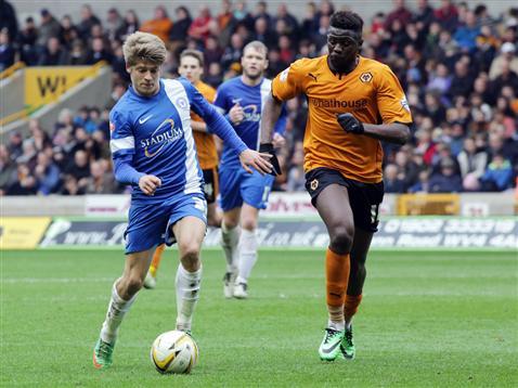 Lloyd Isgrove v Wolves 2