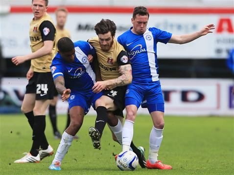 Mark Little and Danny Swanson v Leyton Orient