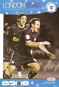 Posh v Coventry 2011-12 programme