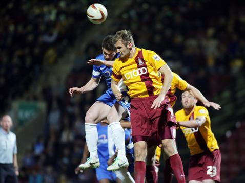 Tommy Rowe v Bradford 2