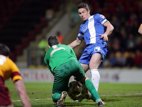 Tommy Rowe v Bradford 3