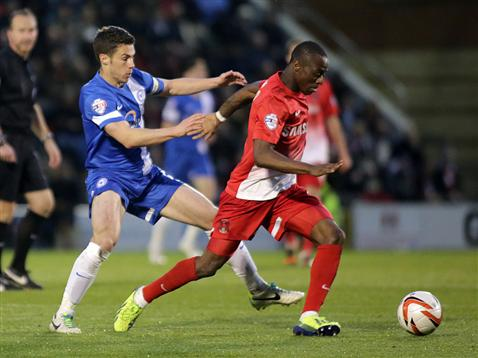 Tommy Rowe v Leyton Orient 2