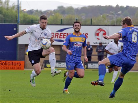 Tommy Rowe v Shrewsbury 2