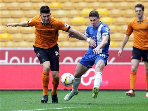 Tommy Rowe v Wolves