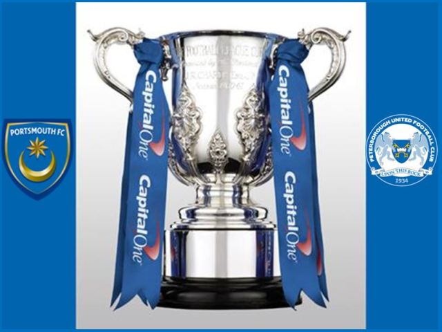 Portsmouth v Posh - Capital One Cup
