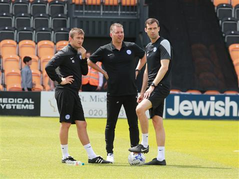 Posh coaching team